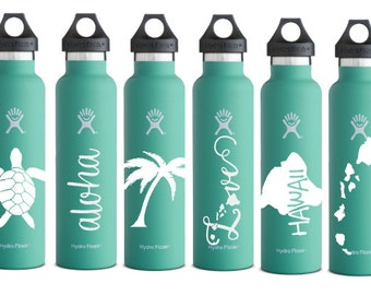 Hawaiian Vinyl Decals for Hydroflasks, Cars, and More!