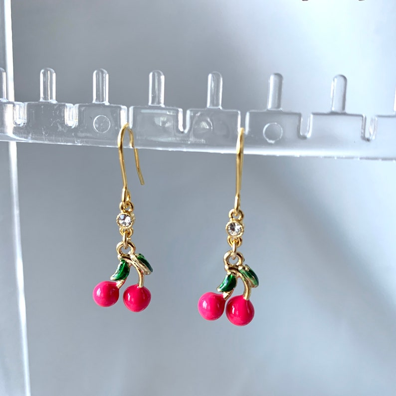 Cherry earrings image 0