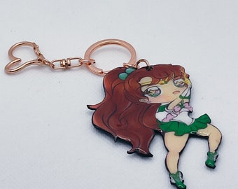 Cute Chibi Sailor Jupiter keychain