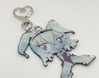 Kawaii Slime Chibi Bunny Suit Girl keychain