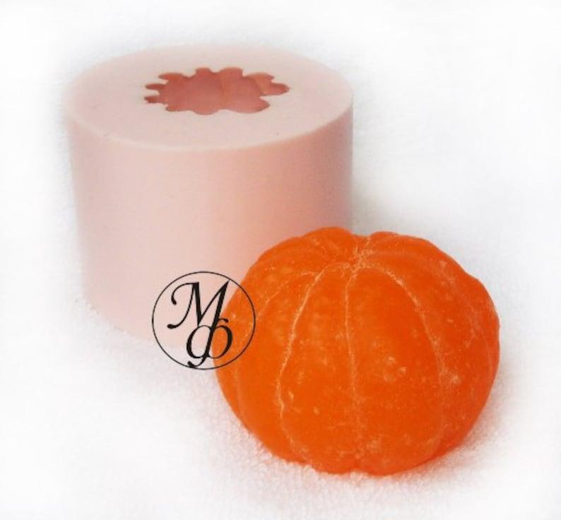 Silicone soap mold Mandarin
