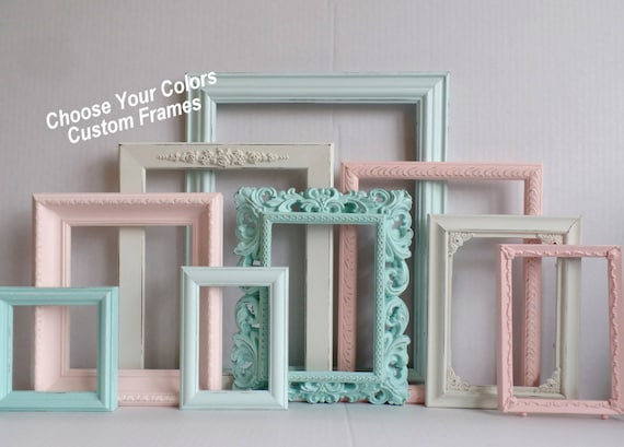 PICTURE FRAMES Custom - Choose Your Colors Custom Frame Collection ...