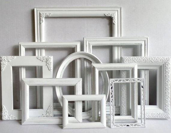 Upcycled Farmhouse Shabby Chic Picture Frame