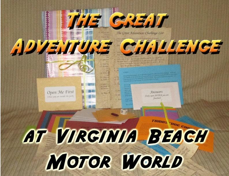Scavenger Hunt Adventure  Virginia Beach Motor World  The image 0
