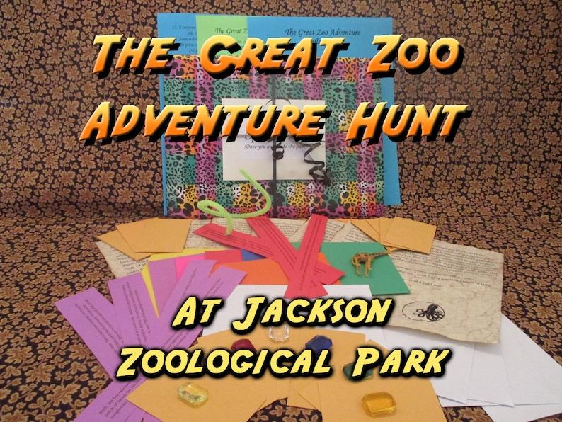 Scavenger Hunt  Jackson Zoological Park Adventure Hunt  The image 0