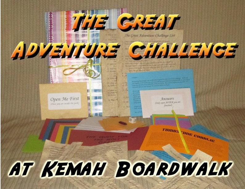 Scavenger Hunt Adventure  Kemah Boardwalk TX  The Great image 0
