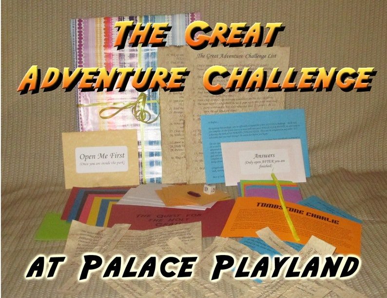 Scavenger Hunt Adventure  Palace Playland Old Orchard Beach image 0