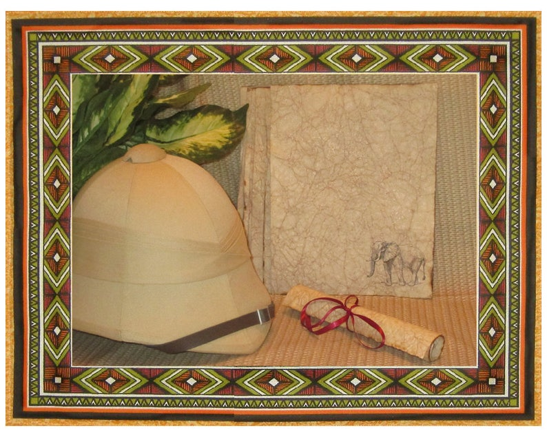 Elephant Paper  Rustically Antiqued Paper  10 Sheets image 0