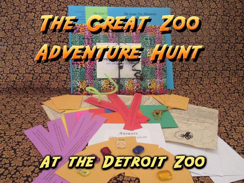 Scavenger Hunt  Detroit Zoo Adventure Hunt  The Great Zoo image 0