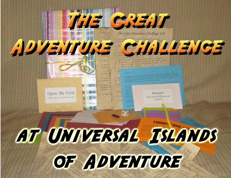 Scavenger Hunt Adventure  Universal Islands of Adventure  image 0
