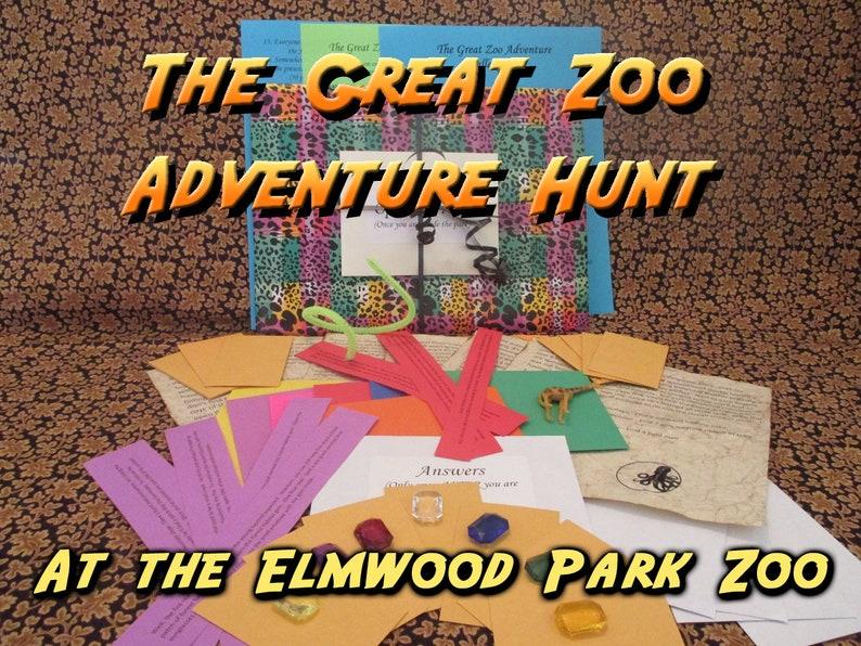 Scavenger Hunt  Elmwood Park Zoo Adventure Hunt  The Great image 0