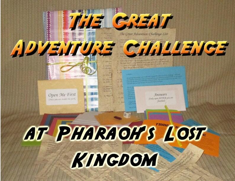 Scavenger Hunt Adventure  Pharaoh's Lost Kingdom  The image 0