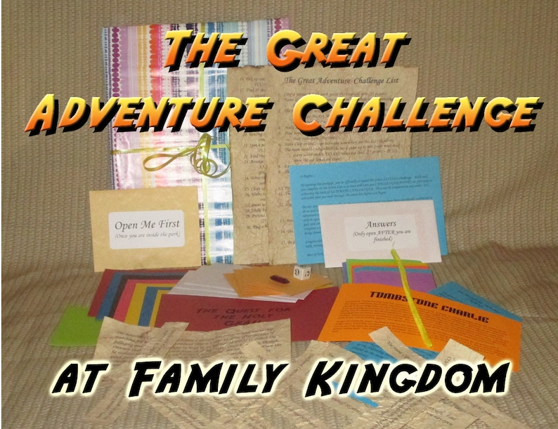 Scavenger Hunt Adventure  Family Kingdom Myrtle Beach  The image 0