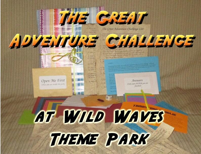 Scavenger Hunt Adventure  Wild Waves Theme Park Federal Way image 0