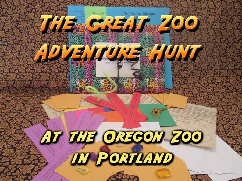 Scavenger Hunt  Oregon Zoo Adventure Hunt  The Great Zoo image 0