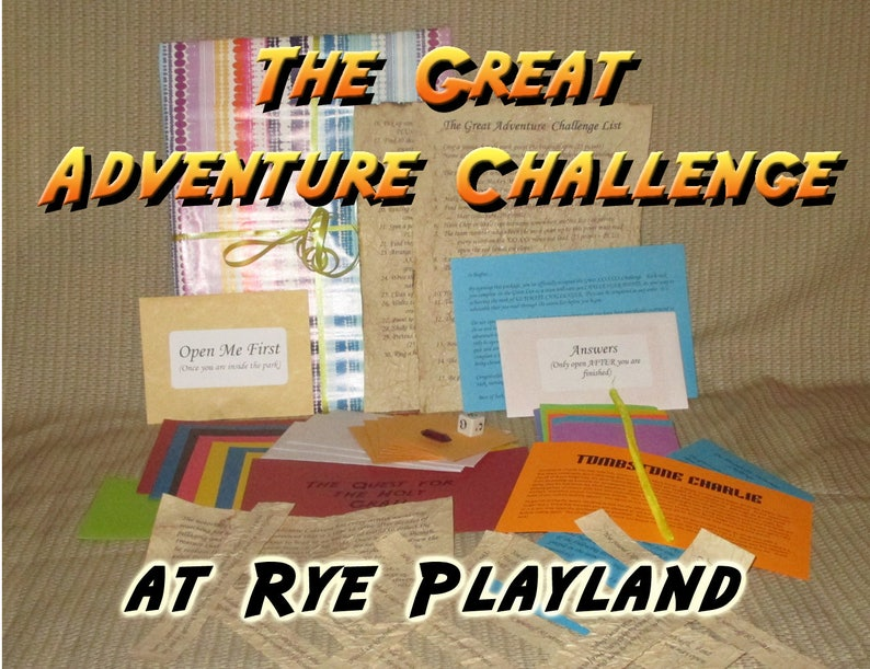 Scavenger Hunt Adventure  Rye Playland NY  The Great image 0