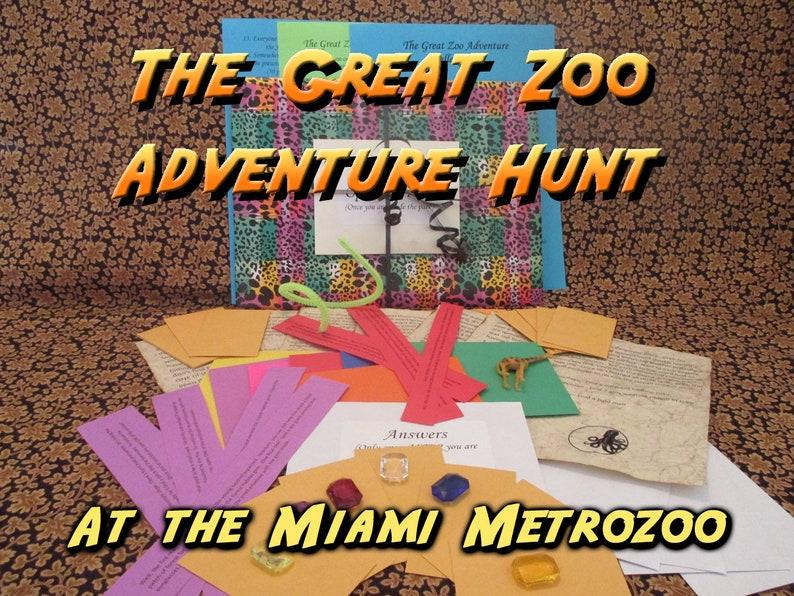 Scavenger Hunt  Miami MetroZoo  Adventure Hunt  The Great image 0