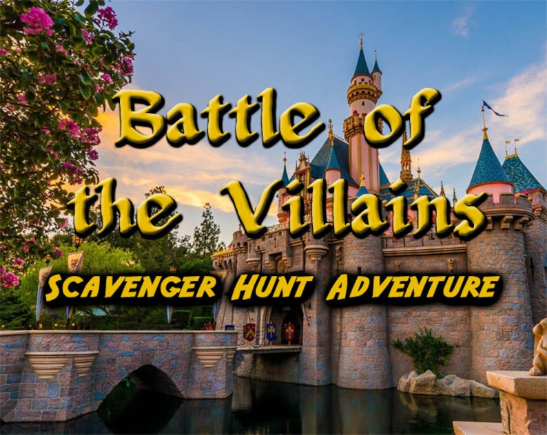 Scavenger Hunt Adventure at Disneyland  Battle of the image 0