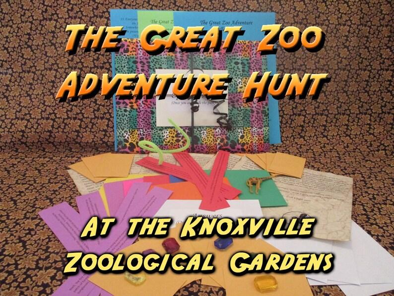 Scavenger Hunt  Knoxville Zoological Gardens Adventure Hunt  image 0