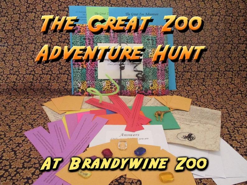 Scavenger Hunt  Brandywine Zoo  Adventure Hunt  The Great image 0