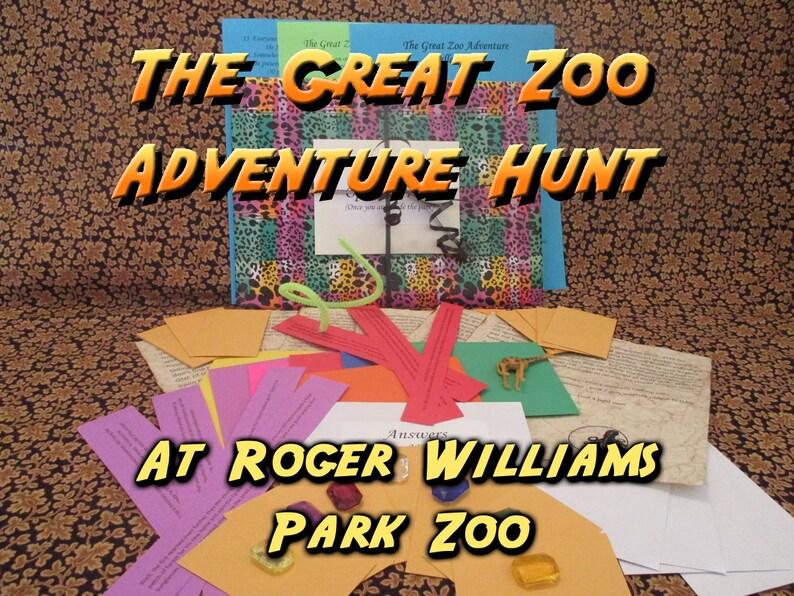 Scavenger Hunt  Roger Williams Park Zoo Adventure Hunt  The image 0