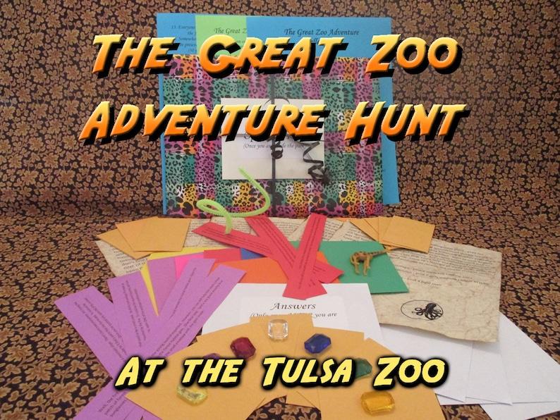 Scavenger Hunt  Tulsa Zoo Adventure Hunt  The Great Zoo image 0