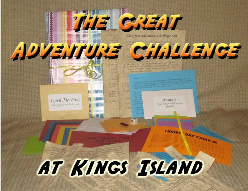 Scavenger Hunt Adventure  Kings Island  The Great Adventure image 0