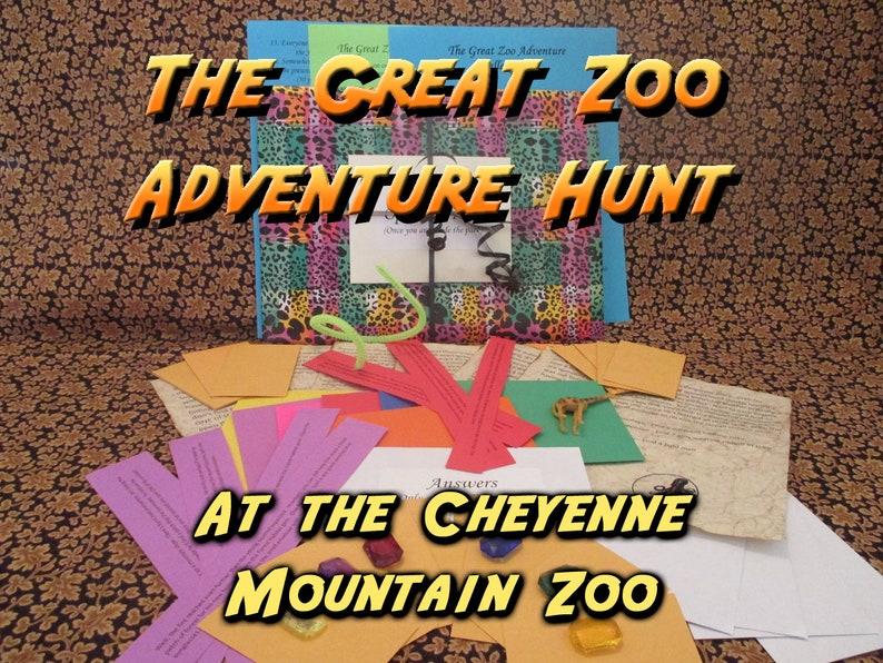Scavenger Hunt  Cheyenne Mountain Zoo  Adventure Hunt  The image 0