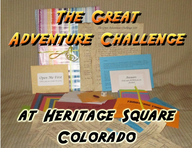 Scavenger Hunt Adventure  Heritage Square  The Great image 0
