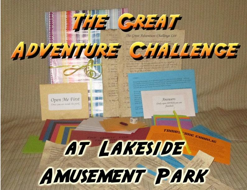Scavenger Hunt Adventure  Lakeside Amusement Park  The Great image 0