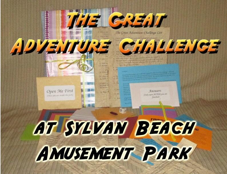 Scavenger Hunt Adventure  Sylvan Beach Amusement Park NY  image 0
