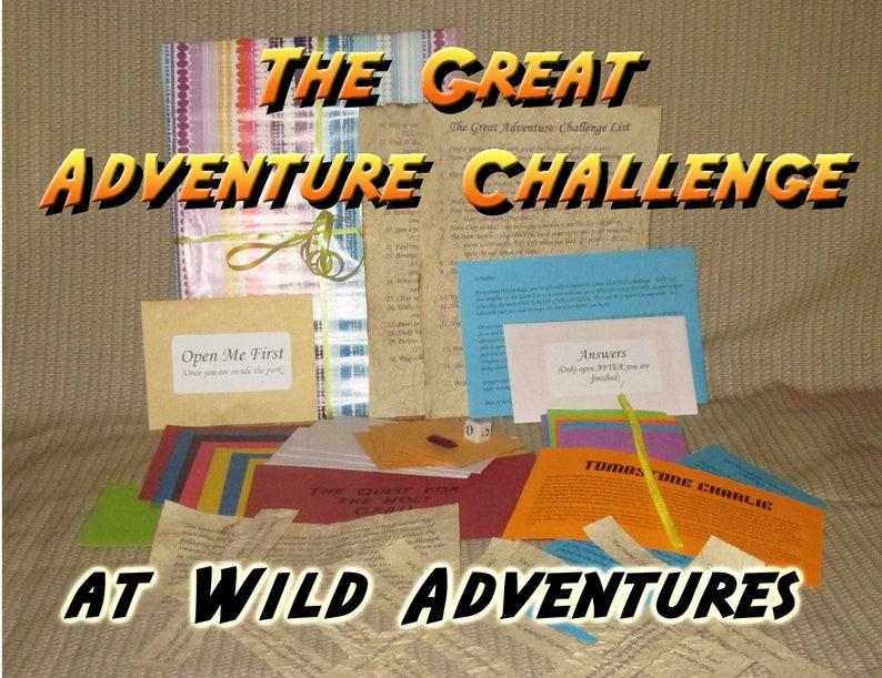 Scavenger Hunt Adventure  Wild Adventures  The Great image 0