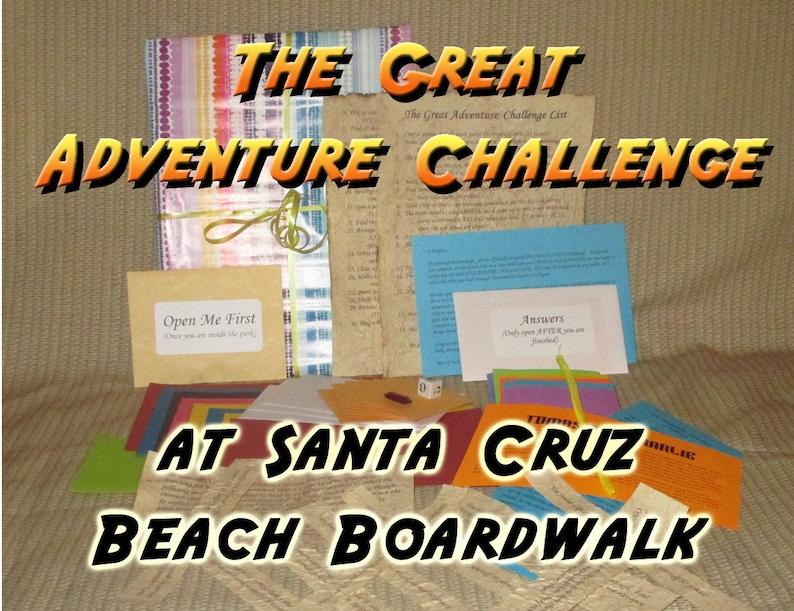 Scavenger Hunt Adventure  Santa Cruz Beach Boardwalk  The image 0