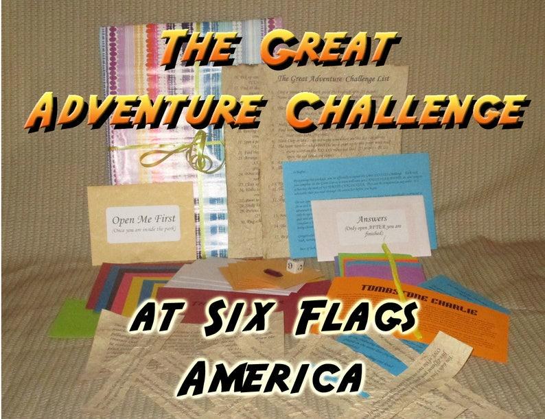 Scavenger Hunt Adventure  Six Flags America Upper Marlboro image 0