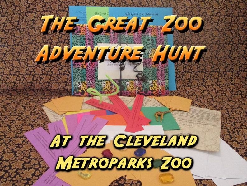 Scavenger Hunt  Cleveland Metroparks Zoo Adventure Hunt  The image 0