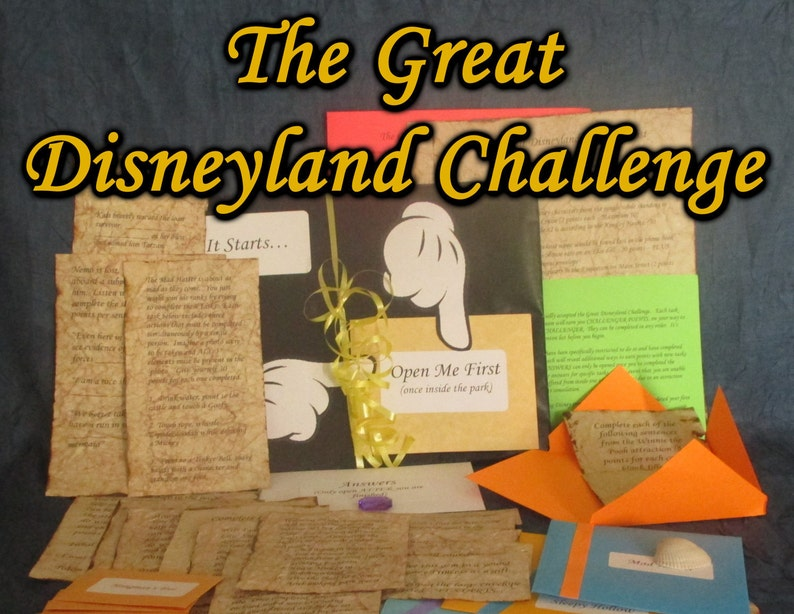 Disneyland Hunt Adventure  The Great Disneyland Challenge image 0