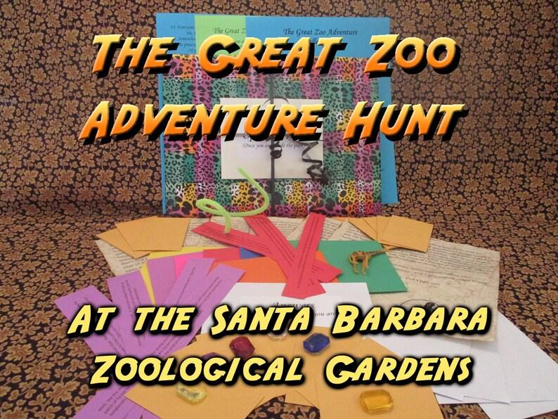 Scavenger Hunt  Santa Barbara Zoological Gardens  Adventure image 0