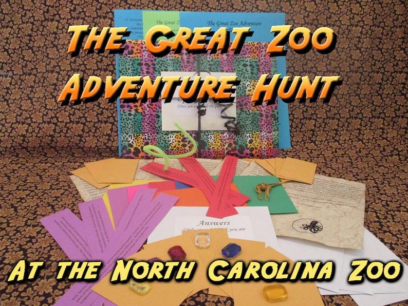 Scavenger Hunt  North Carolina Zoo Adventure Hunt  The Great image 0