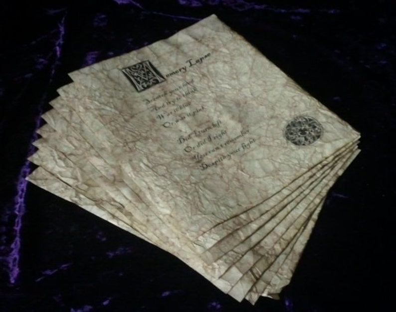 Wizard Spell Book Pages  Persuasion and Interaction Spells image 0