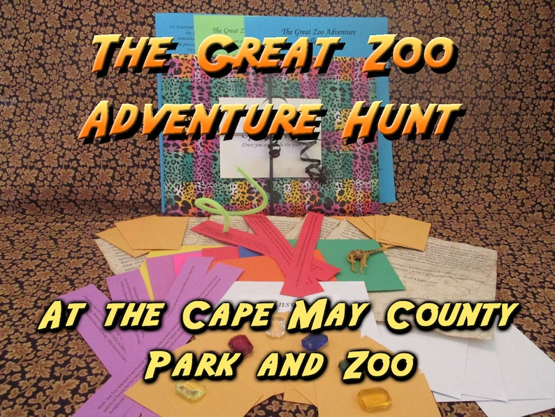 Scavenger Hunt  Cape May County Zoo Adventure Hunt  The image 0