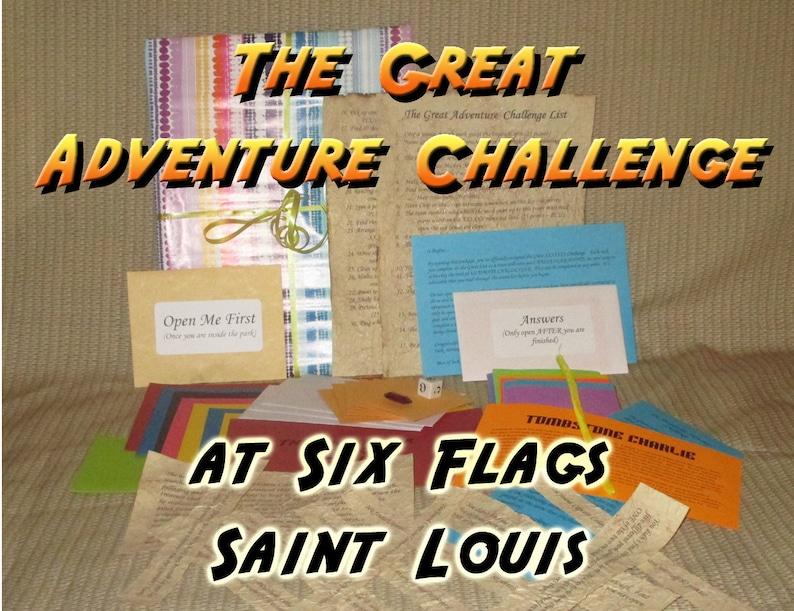 Scavenger Hunt Adventure  Six Flags St. Louis  The Great image 0
