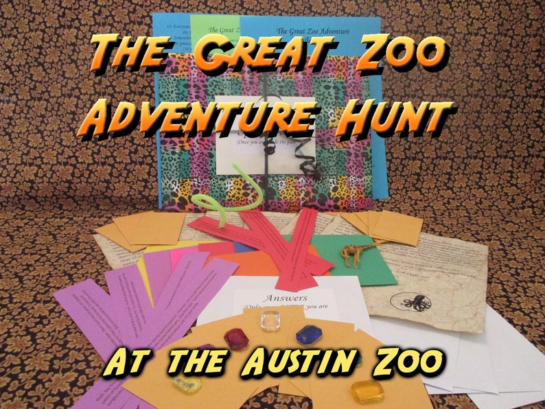 Scavenger Hunt  Austin Zoo Adventure Hunt  The Great Zoo image 0