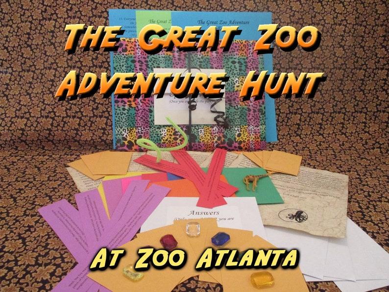 Scavenger Hunt  Zoo Atlanta Adventure Hunt  The Great Zoo image 0