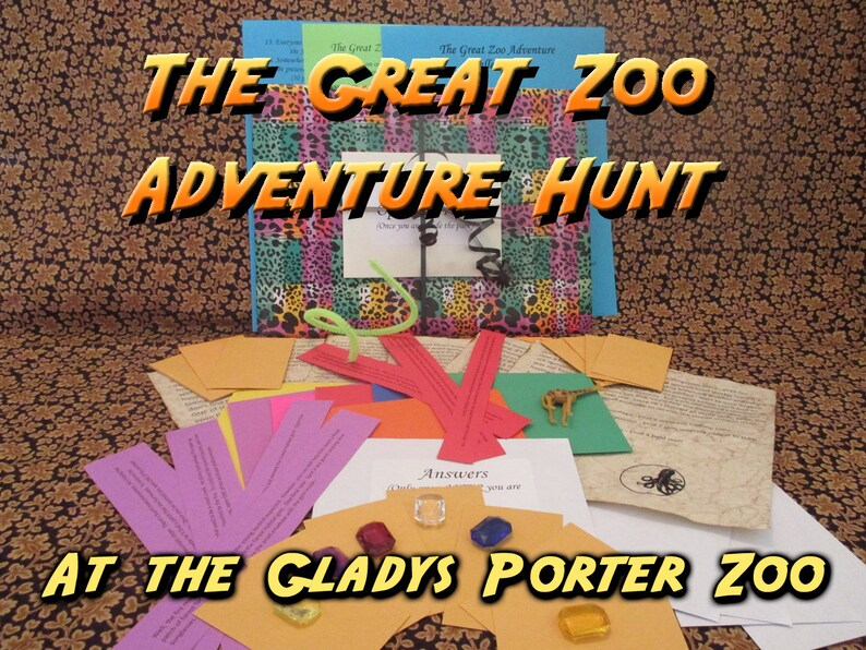 Scavenger Hunt  Gladys Porter Zoo Adventure Hunt  The Great image 0