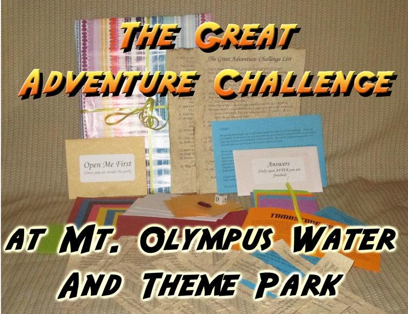 Scavenger Hunt Adventure  Mt Olympus Theme Park Wisconsin image 0