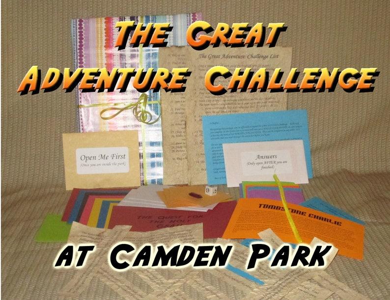 Scavenger Hunt Adventure  Camden Park Huntington WV  The image 0