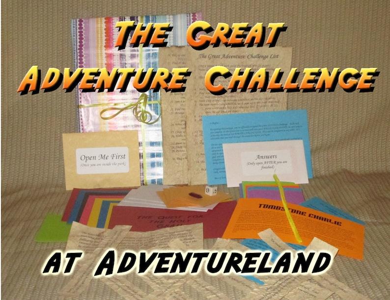 Scavenger Hunt Adventure  Adventureland Farmingdale NY  The image 0