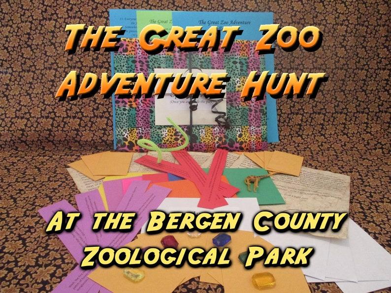 Scavenger Hunt  Bergen County Zoological Park Adventure Hunt image 0