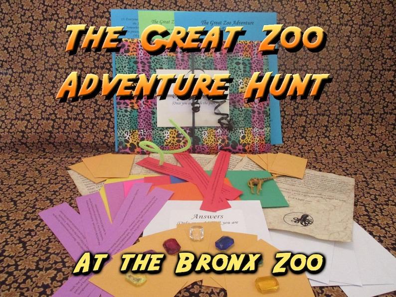 Scavenger Hunt  Bronx Zoo Adventure Hunt  The Great Zoo image 0