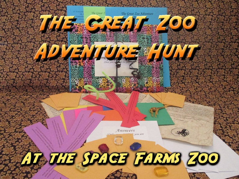 Scavenger Hunt  Space Farms Zoo Adventure Hunt  The Great image 0